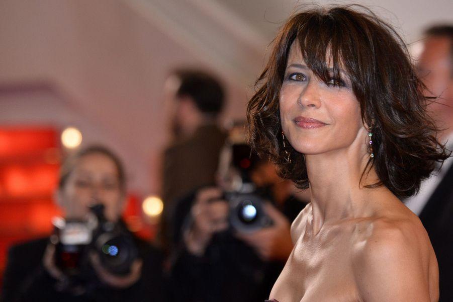 Sophie Marceau lors du Festival de Cannes 2014.