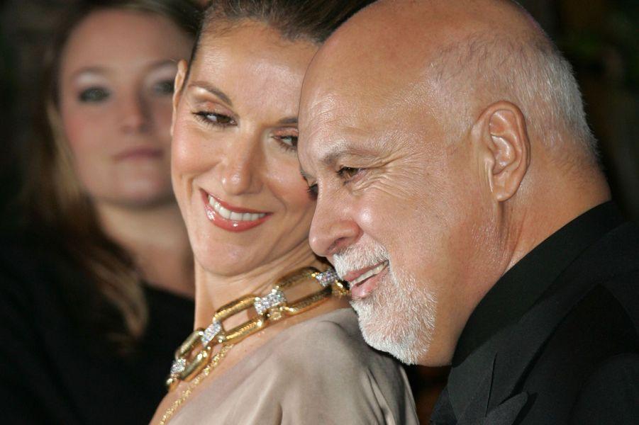 Céline Dion et René Angélil en 2007.