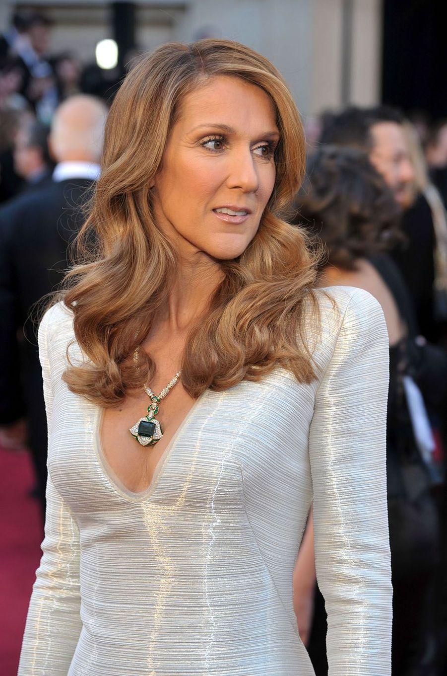 Céline Dion en 2011.