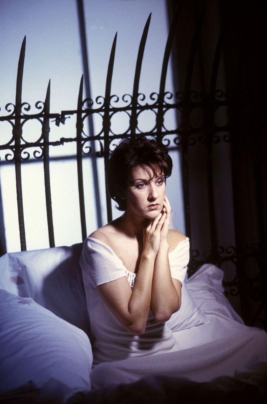 Céline Dion en 1993.