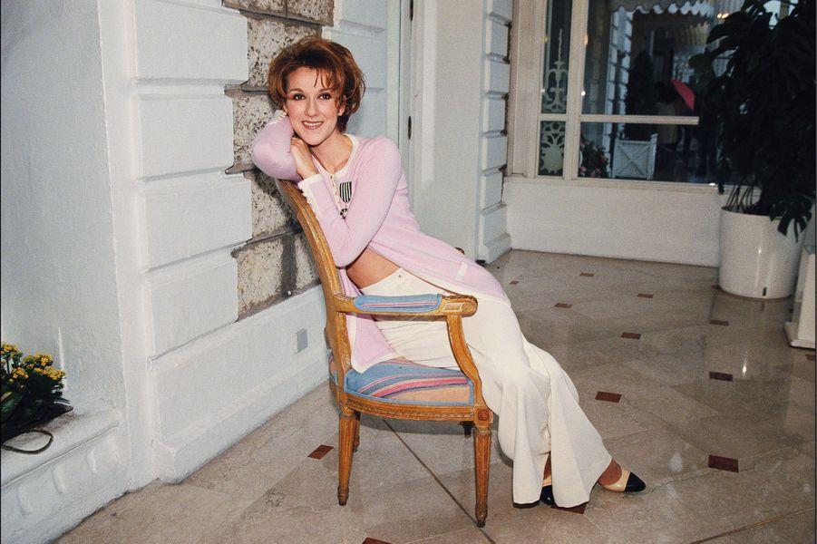 Céline Dion en 1996.