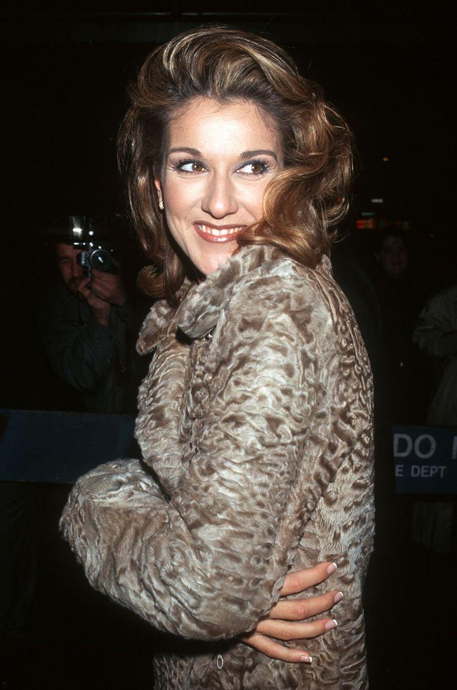 Céline Dion en 1997.