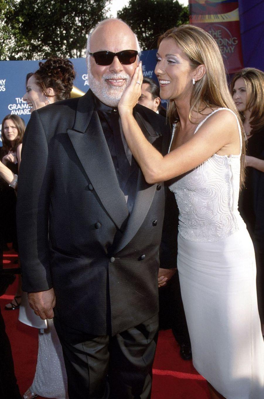 Céline Dion et René Angélil en 1999.