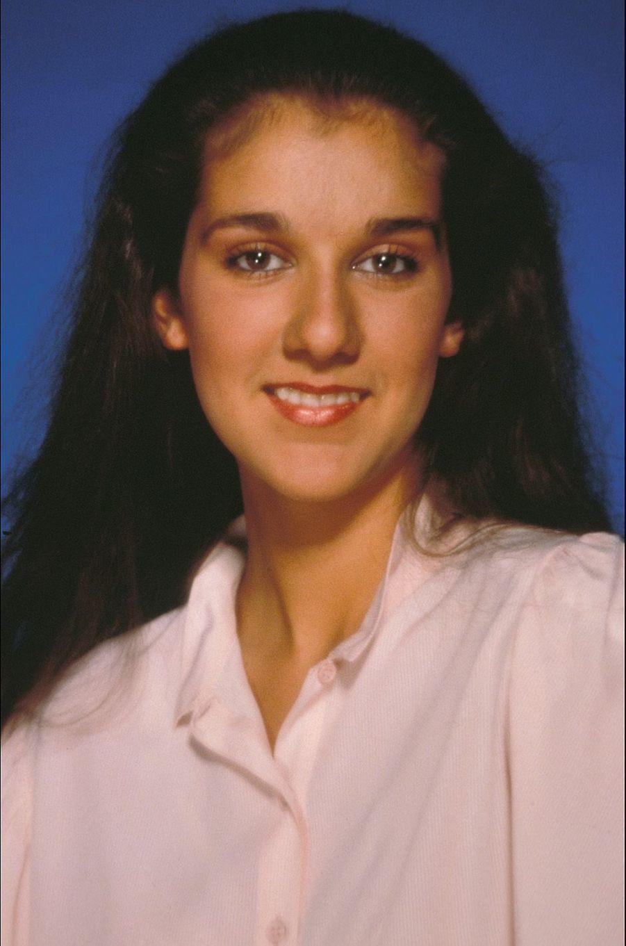 Céline Dion en 1985.