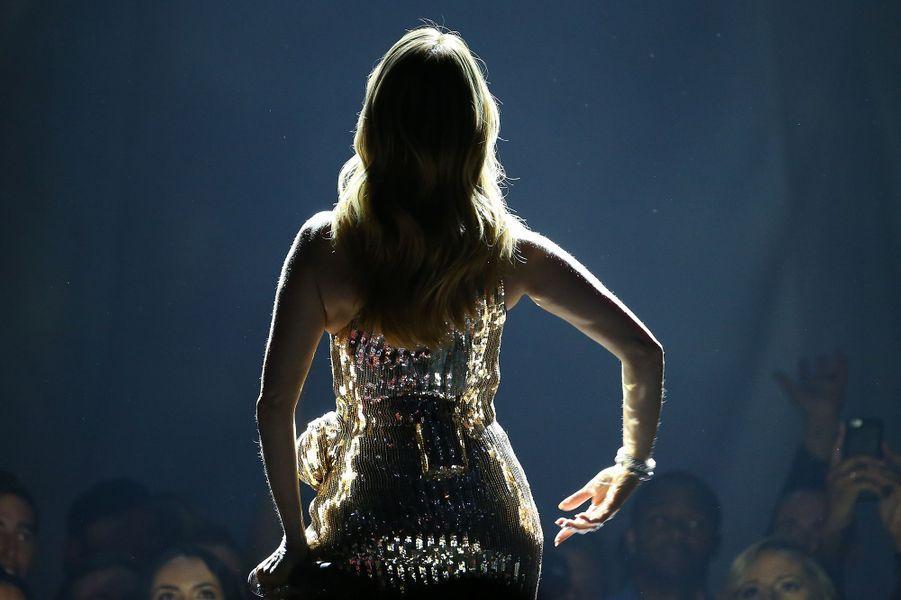 Céline Dion fait son grand retour aux BMA 2016, en mai 2016.