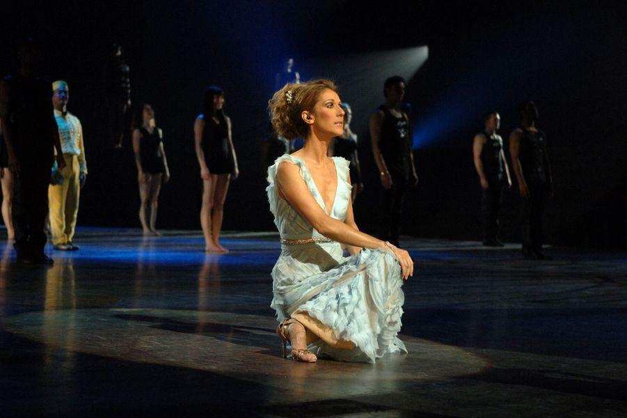 Céline Dion en concert à Las Vegas en 2007