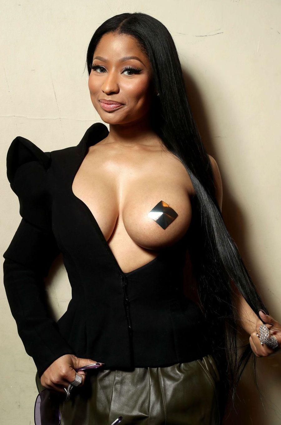 La rappeuse Nicki Minaj.