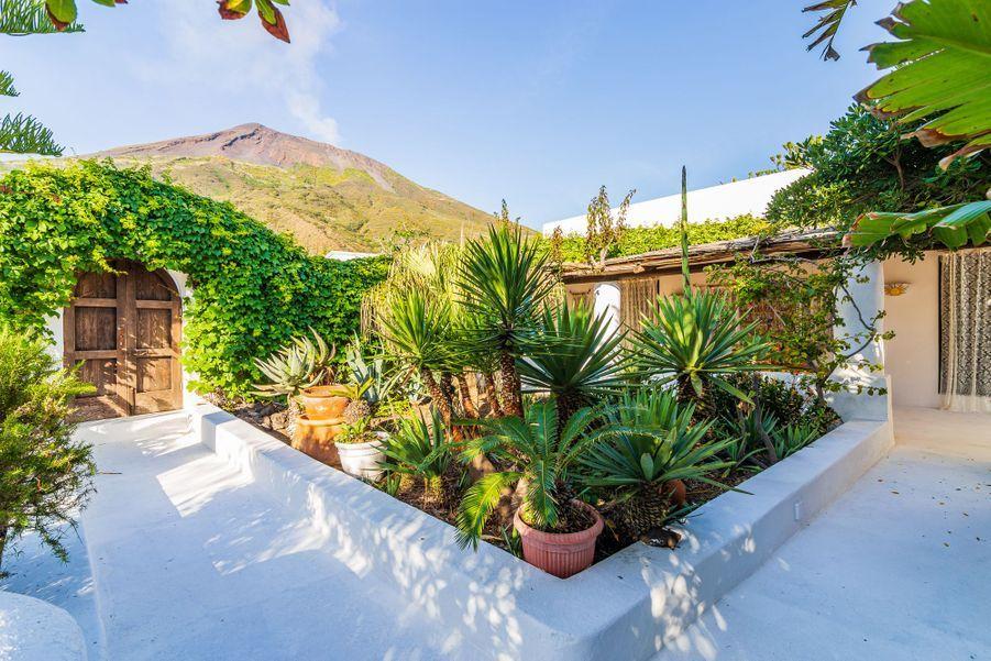 La villa de Dolce et Gabbana sur l'île Stromboli