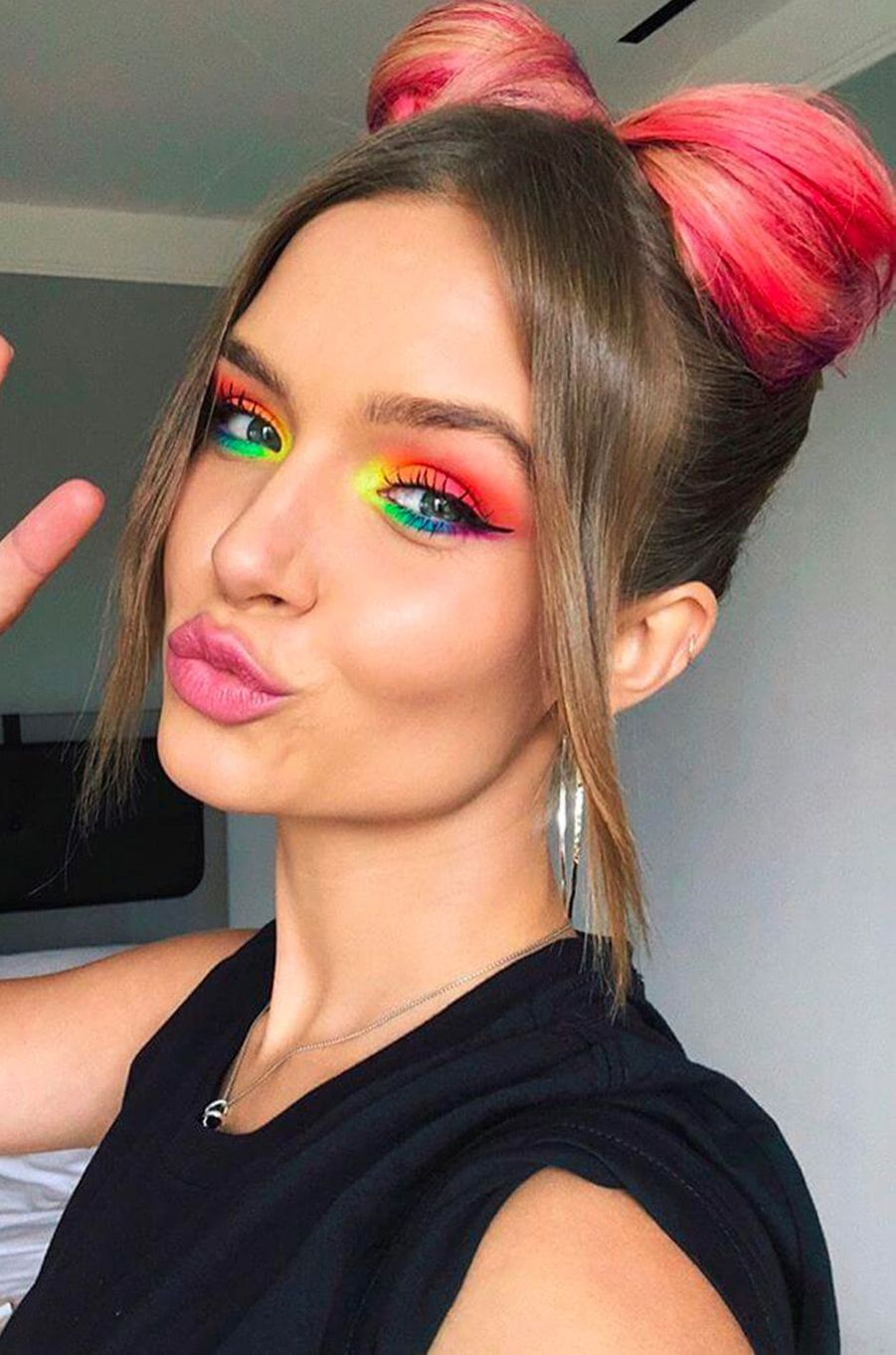 Josephine Skriver à la Gay Pride