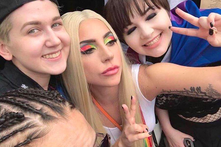 Lady Gaga à la Gay Pride