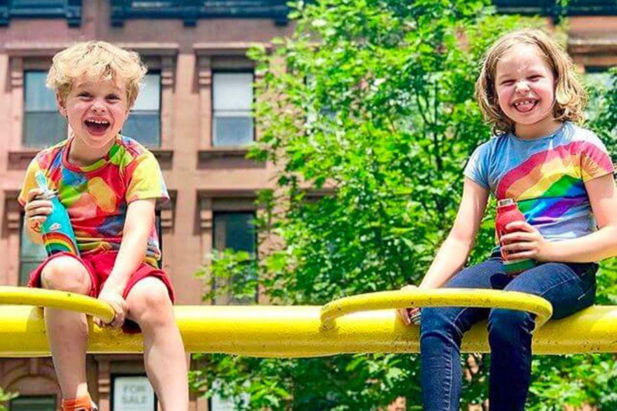 Les enfants de Neil Patrick Harris à la Gay Pride