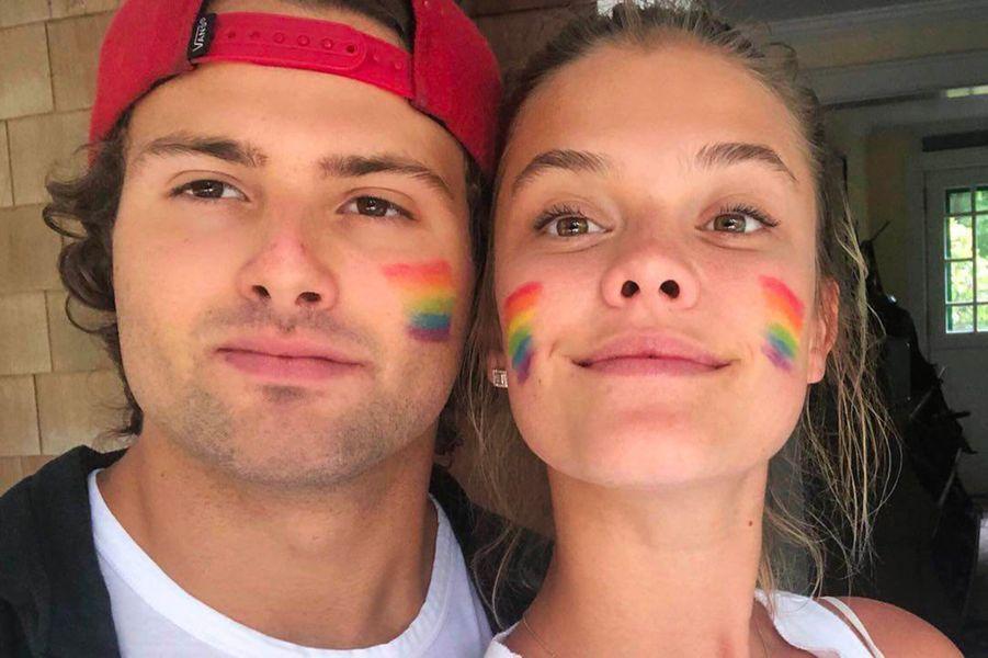 Nina Agdal à la Gay Pride