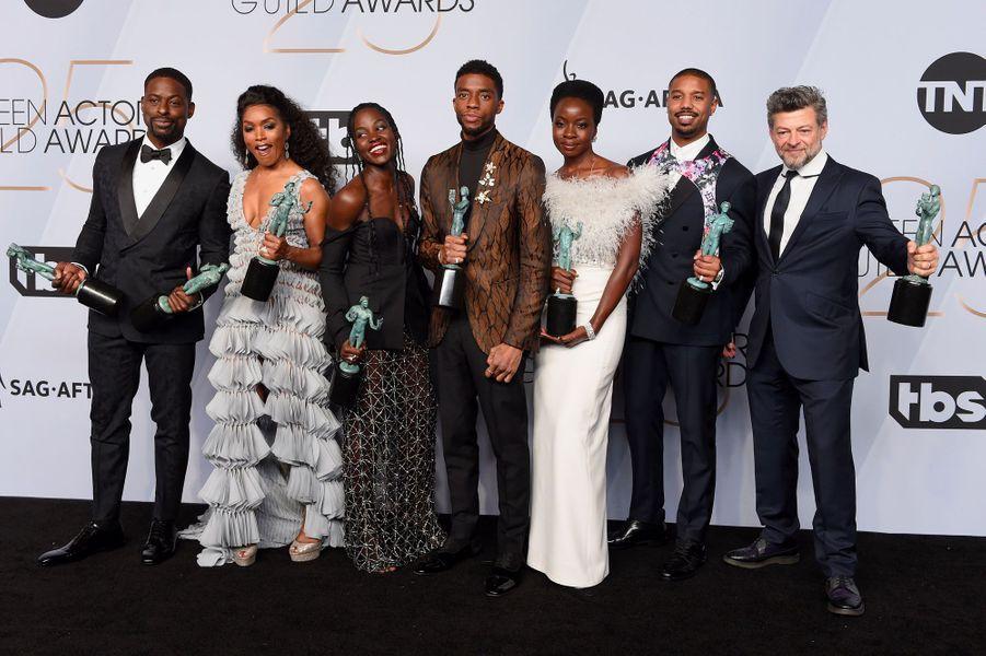 """L'équipe du film """"Black Panther"""""""