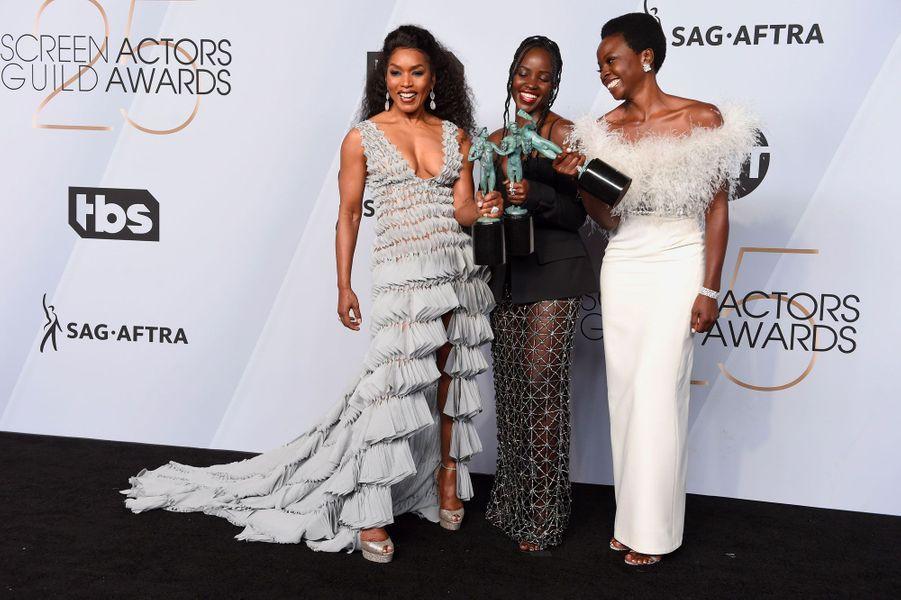 Angela Bassett, Lupita Nyong'o et Danai Gurira