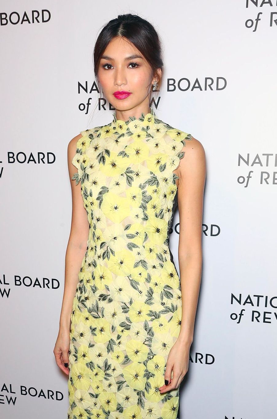 Gemma Chan au National Board of Review Gala, mardi 8 janvier, à New York
