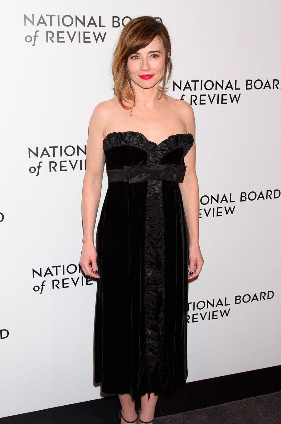 Linda Cardellini au National Board of Review Gala, mardi 8 janvier, à New York