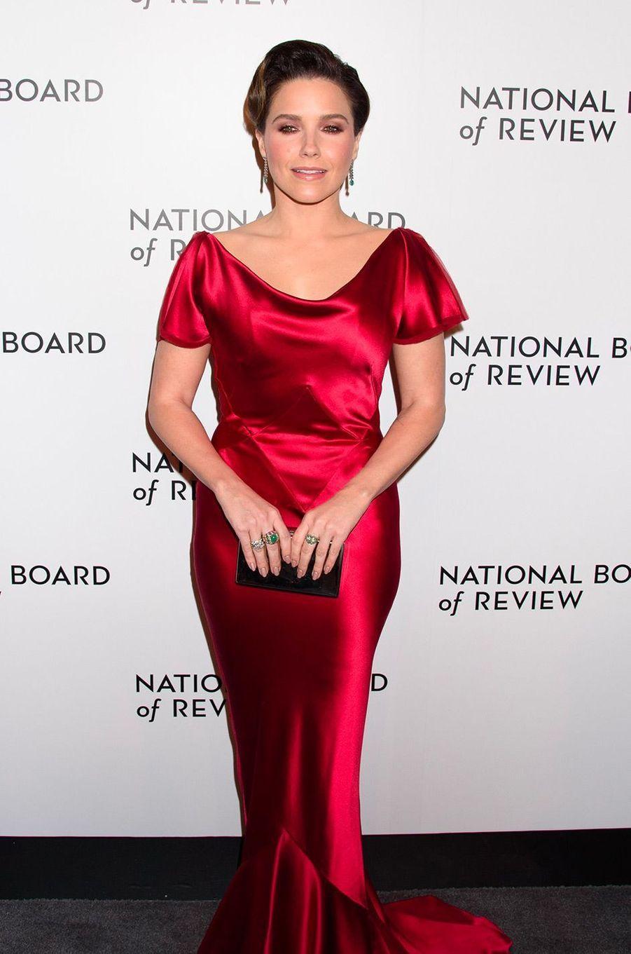 Sophia Bush au National Board of Review Gala, mardi 8 janvier, à New York