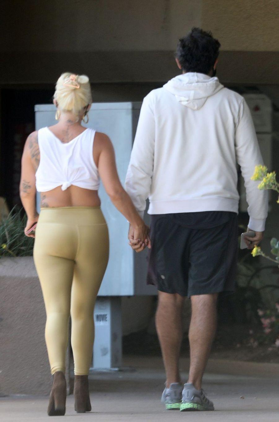 Lady Gaga et son petit ami Michael Polansky à Los Angeles le 14 juin 2020