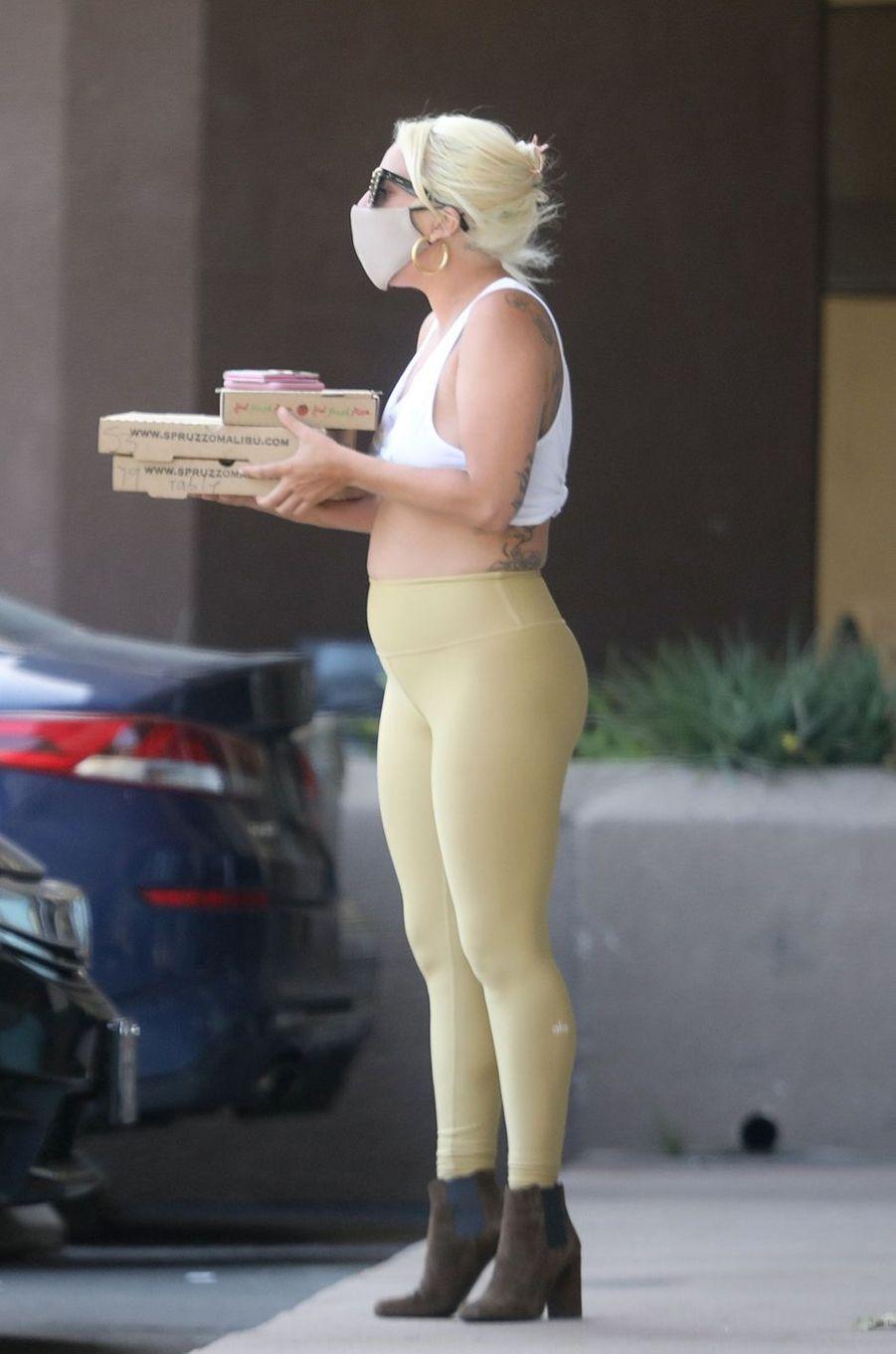 Lady Gagaà Los Angeles le 14 juin 2020