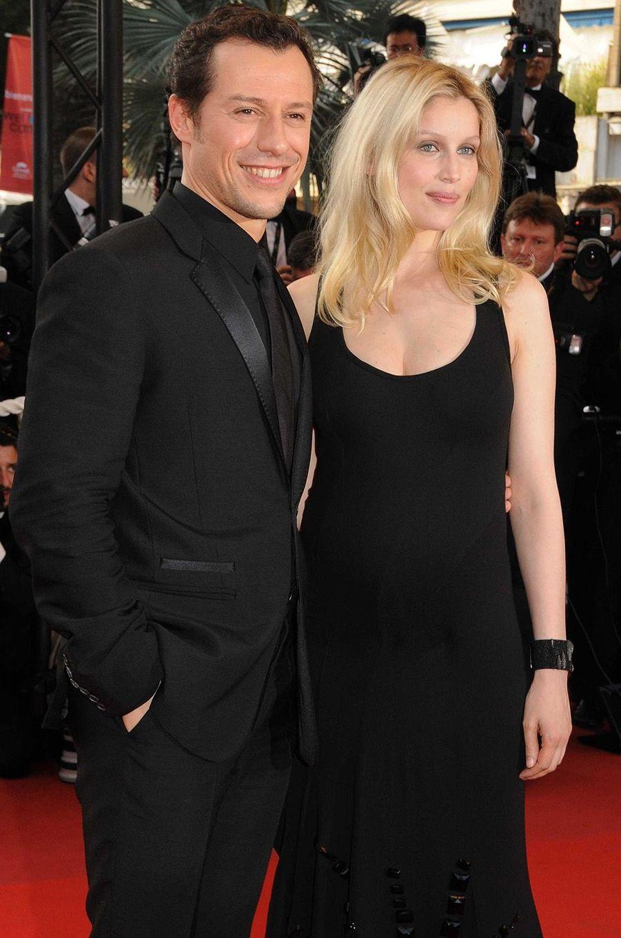 Laetitia Casta et Stefano Accorsi au festival de Cannes 2009.