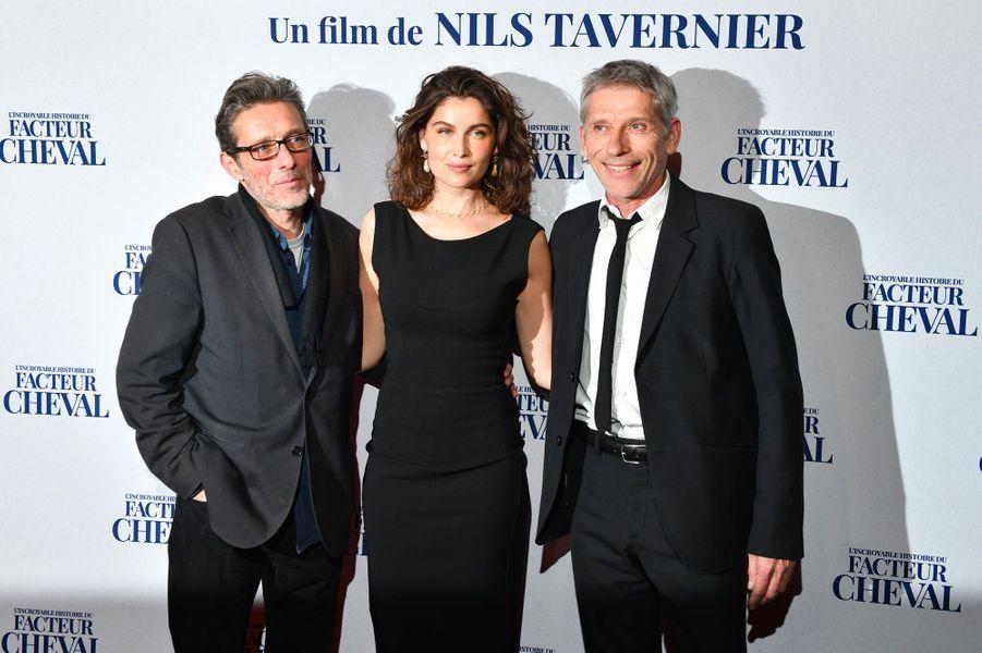 Nils Tavernier, Laetitia Casta et Jacques Gamblin