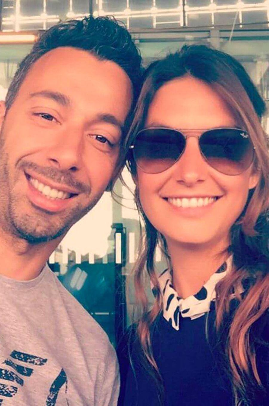 Laetitia Milot et son mari Badri en mai 2017