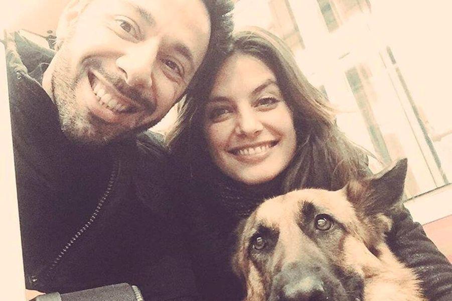 Laetitia Milot et son mari Badri en mars 2017