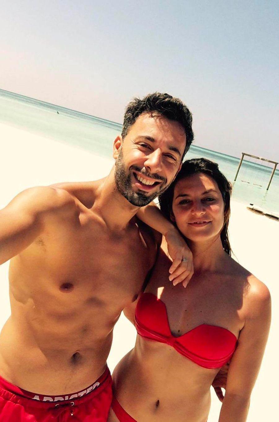 Laetitia Milot et son mari Badri en décembre 2016