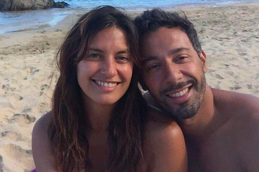 Laetitia Milot et son mari Badri en octobre 2016