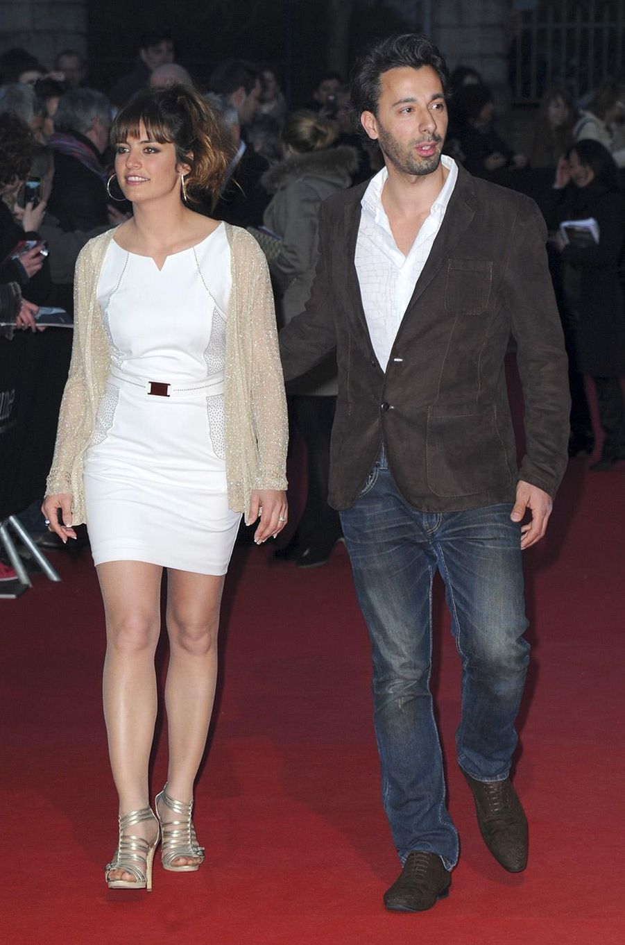 Laetitia Milot et son mari Badri en avril 2013