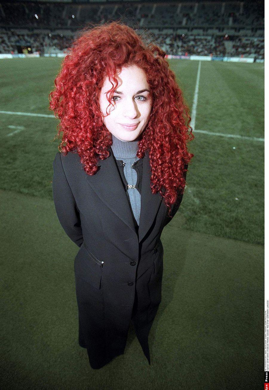 Larusso en mars 2000 au stade de France de Saint Denis.