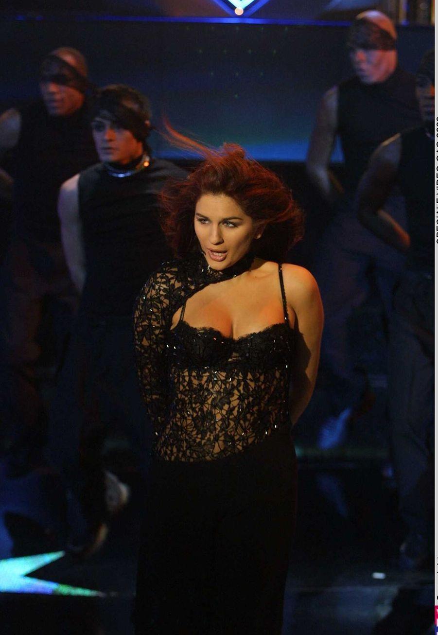 Larusso en décembre 2001 lors d'un concert.