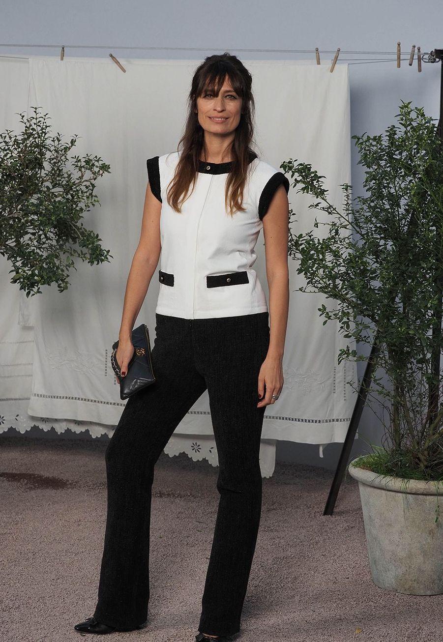 Caroline de Maigretau défilé Chanel Haute Couture printemps-été 2020 au Grand Palais àParis mardi 21 janvier.