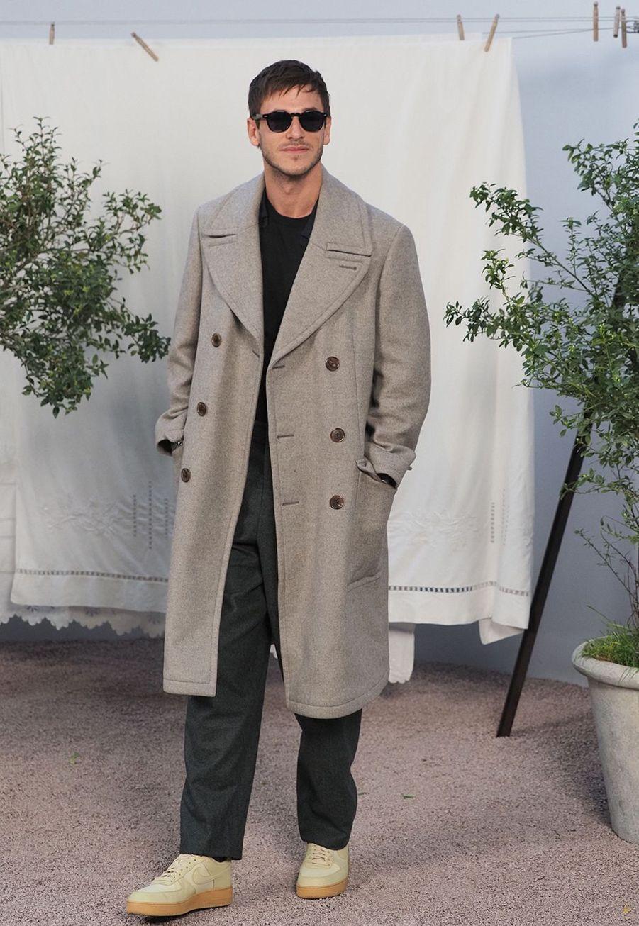 Gaspard Ullielau défilé Chanel Haute Couture printemps-été 2020 au Grand Palais àParis mardi 21 janvier.