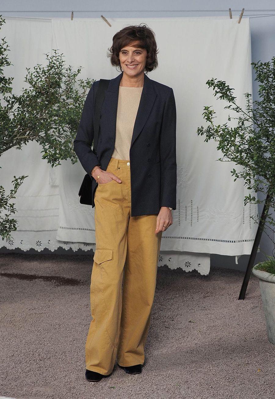 Inès de La Fressangeau défilé Chanel Haute Couture printemps-été 2020 au Grand Palais àParis mardi 21 janvier.