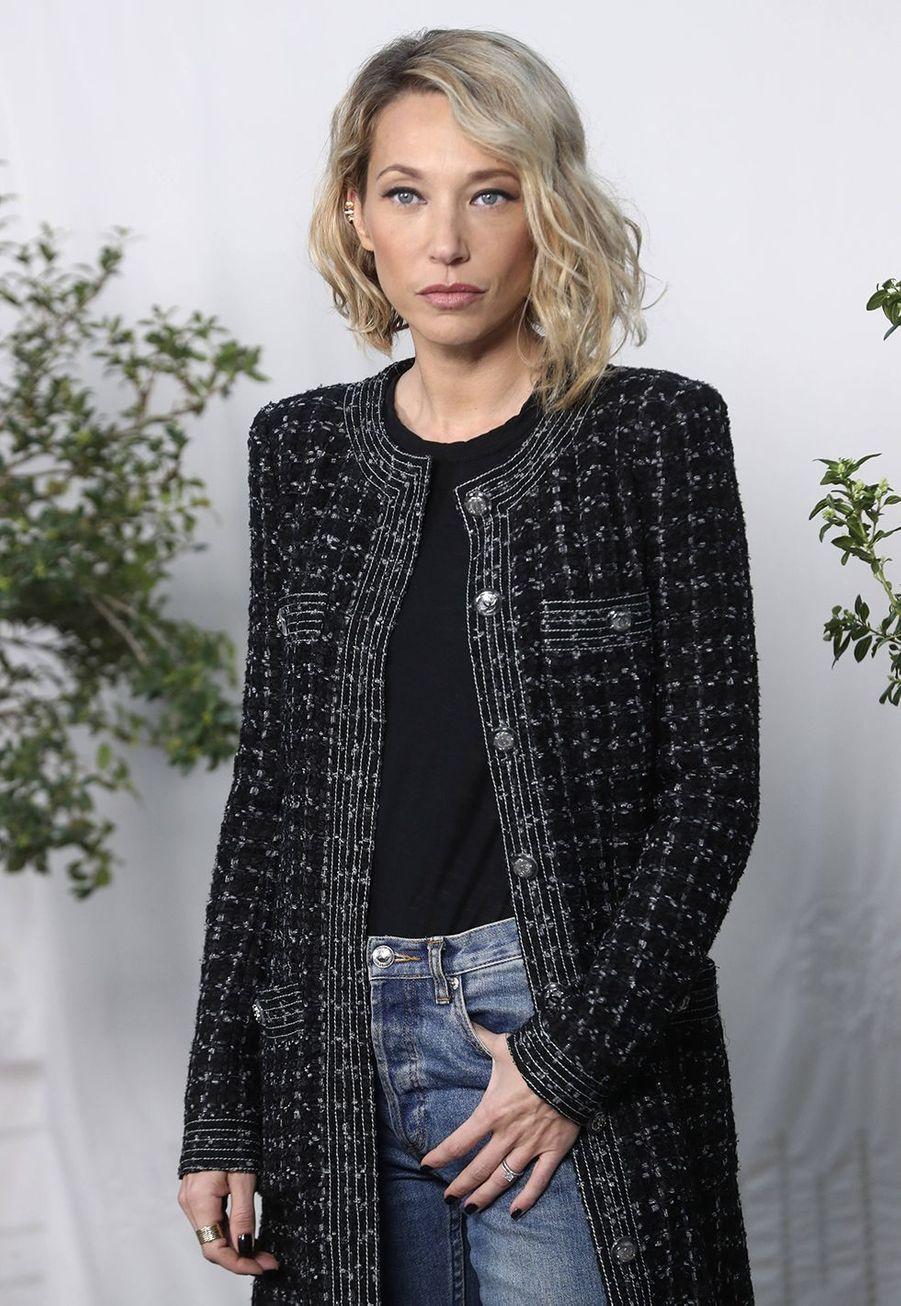 Laura Smetau défilé Chanel Haute Couture printemps-été 2020 au Grand Palais àParis mardi 21 janvier.