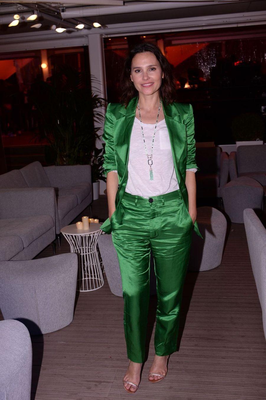 Virginie Ledoyenlors de la soirée Orange à Cannes, le 18 mai 2019