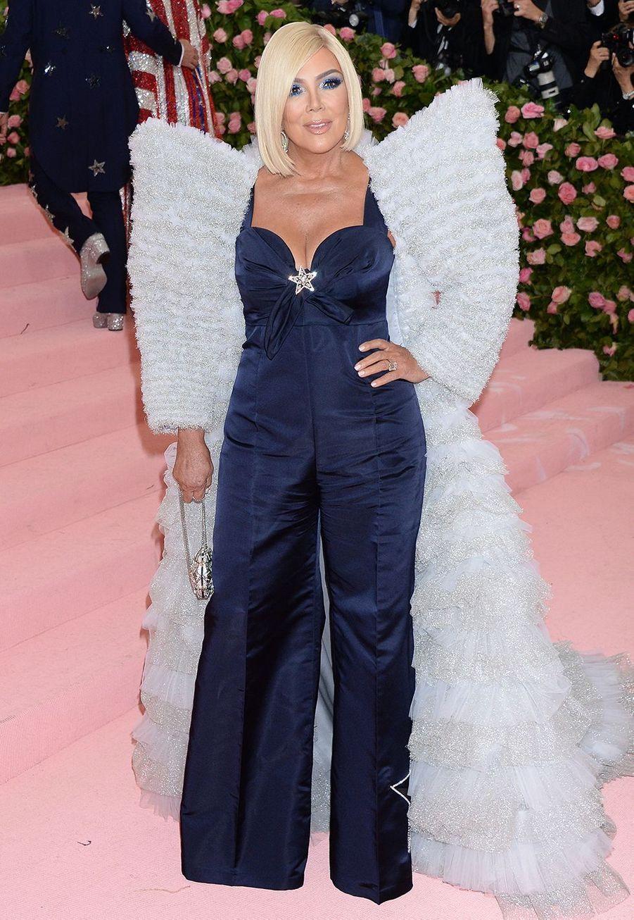 Kris Jenner au MET Gala 2019