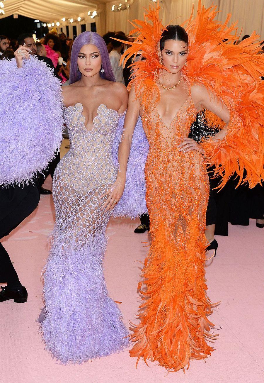 Kylie Jenner et Kendall Jenner au MET Gala 2019