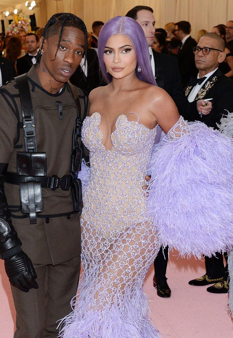 Kylie Jenner et Travis Scott au MET Gala 2019