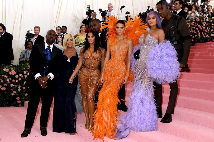 Le clan Kardashian-Jenner au MET Gala 2019