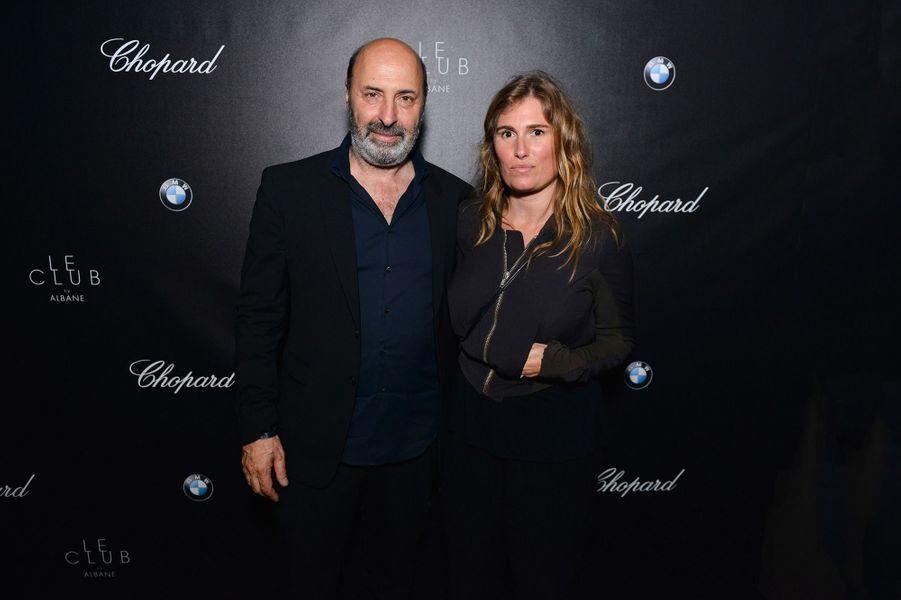 Cédric Klapisch et sa femme Lola Doillon.