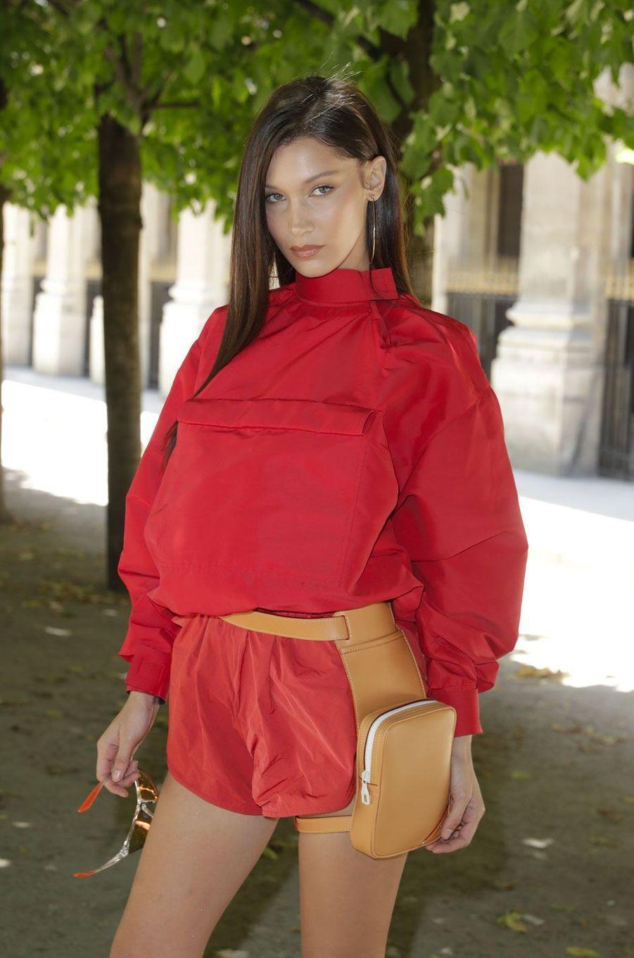 Bella Hadid à Paris le 21 juin 2018