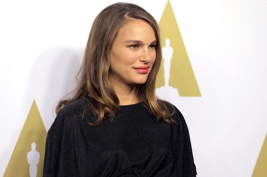 Nathalie Portman enceinte de son deuxième enfant.