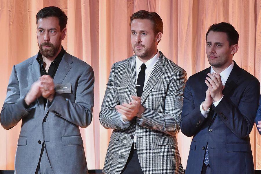 Dan Krauss, Ryan Gosling et Benj Pasek