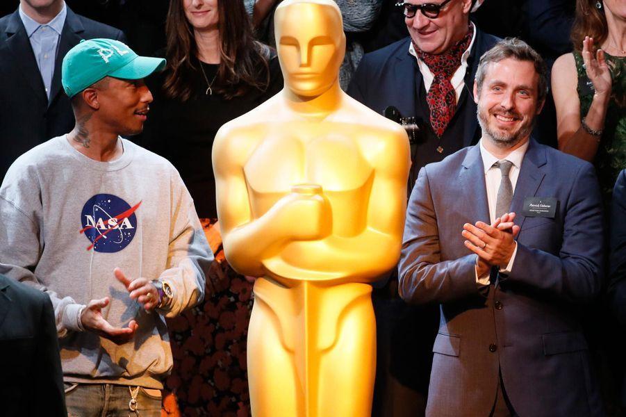 Pharrell Wiliams et Patrick Osborne.