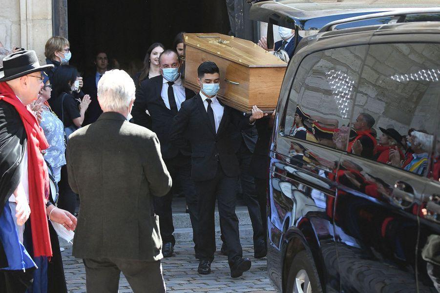 Ce jeudi se déroulaient à l'église Saint-Pierre de Montmartre, dans le 18e arrondissement de Paris,les obsèques de Hermine de Clermont-Tonnerre.