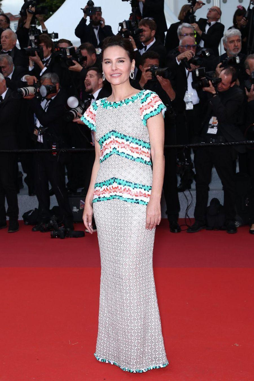 Virginie Ledoyen lors de la montée des marches du film «The Dead Don't Die» au Festival de Cannes le 14 mai 2019