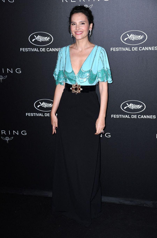 Virginie Ledoyen lors du dîner Kering «Women In Motion Awards» organisé en marge du 72e Festival de Cannes le 19 mai 2019
