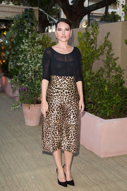 Virginie Ledoyen lors de la soirée organisée par Dior et «Vogue» lors du 72ème Festival de Cannes le 15 mai 2019